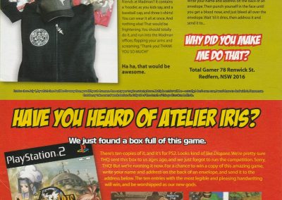 Competitions from Total Gamer issue #21, July 2006