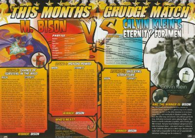 Gaming Grudge Match from Total Gamer issue #15, January 2006